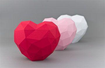 Deko Herz Papier Origami Origami 3d Origami Origami Heart