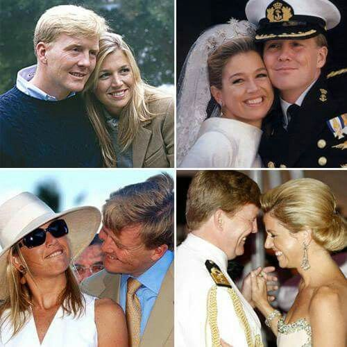 Maxima and Willem