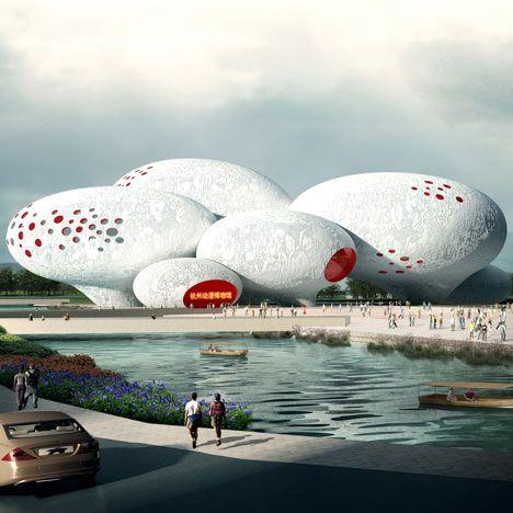 Comic and Animation Museum, Hangzhou, China by MVRDV: Hangzhou China, Futuristic Architecture, Architecture Museums, Animal Museums, Architecture Building, Amazing Building, Amazing Architecture, Dutch Design, Architecture Design