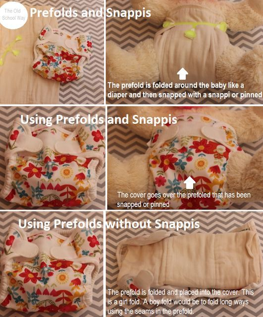 Using Prefolds from Cloth Diapers 101: For the VERY Beginner