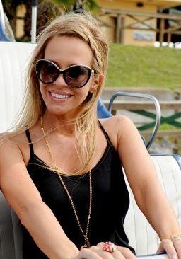 Dina Manzo's Back & Gold Cat Eye Sunglasses | Big Blonde Hair : Big Blonde Hair http://www.bigblondehair.com/real-housewives/rhonj/dina-manzos-back-gold-cat-eye-sunglasses/