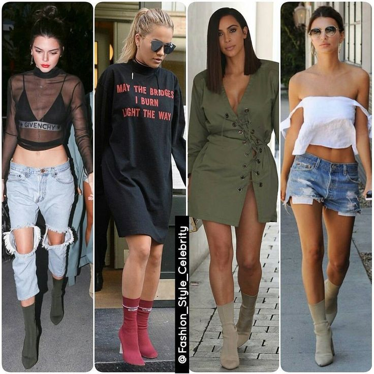 Must Have for Winter 2016#SockBoots#KendallJenner#RitaOra#KimKardashian#EmilyRatajkowski#Yeezyboots #Yeezy #chic #beautiful #heels #fashionista #choker #fall #sunglasses #winterfashion #gorgeous #boyfriendjeans #boots #highheels #jeans #fashionweek #candid #coat #doubledemin #clothing #flats #boots #beauty... - Celebrity Fashion
