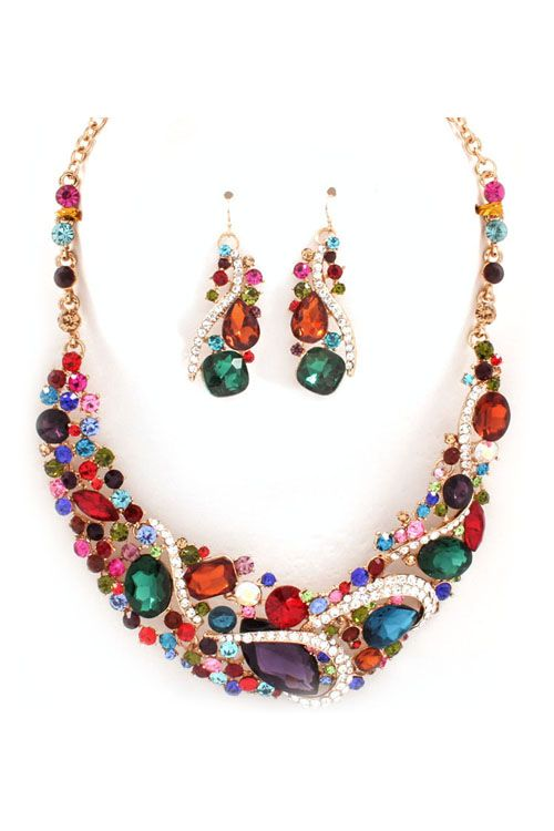 Crystal Gail Necklace
