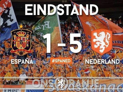Hollands revenge against 5pa1n :) hup Holland hup!