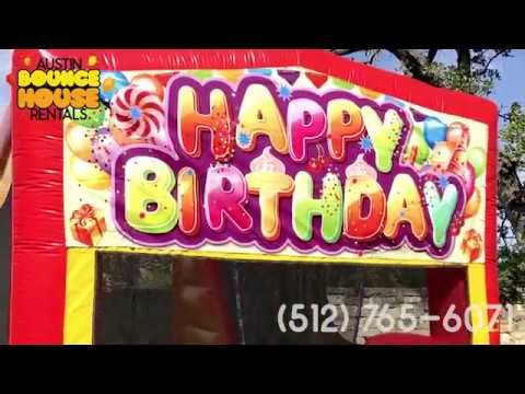 Austin Bounce House Rentals - Awesome Party Rental Customer Setups in Au...