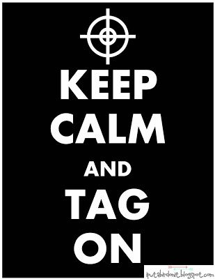 Keep Calm and Tag On free printable for laser tag party by Put A Bird On It  Hard Knocks - Beyond Laser Tag