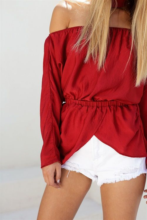 Buy Ruby Off Shoulder Top Online - Tops - Women's Clothing & Fashion - SABO…