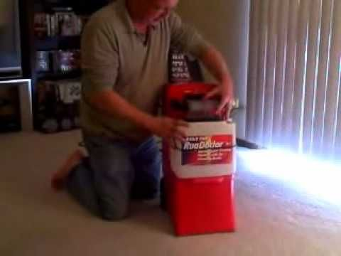 How To Clean A Carpet With A Hot Water Extraction Machine   How To Use A · Rug  DoctorDeep ...