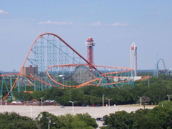 Arlington Texas Arlington S Six Flags Was Pretty Fun I Rode Every Single Rollercoaster There Even The Huge One With Six Flags Over Texas Six Flags Day Trips