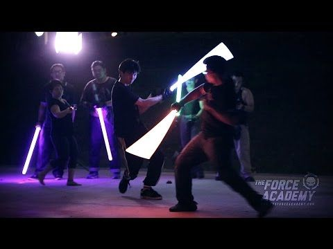 The most realistic lightsaber dueling experience in Singapore (by The Saber Authority). This is SOOO cool and actually quite mesmerizing!!! I would love to learn how to do this.