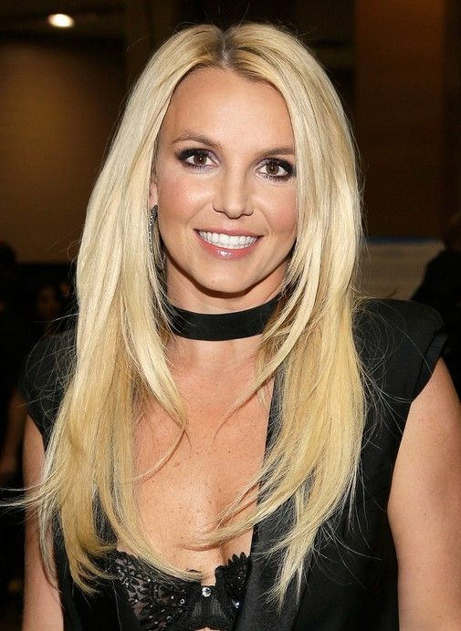 britney spears 2014 | 2014 Britney Spears Long Hairstyles: Straight with Blonde Hair /Getty ...
