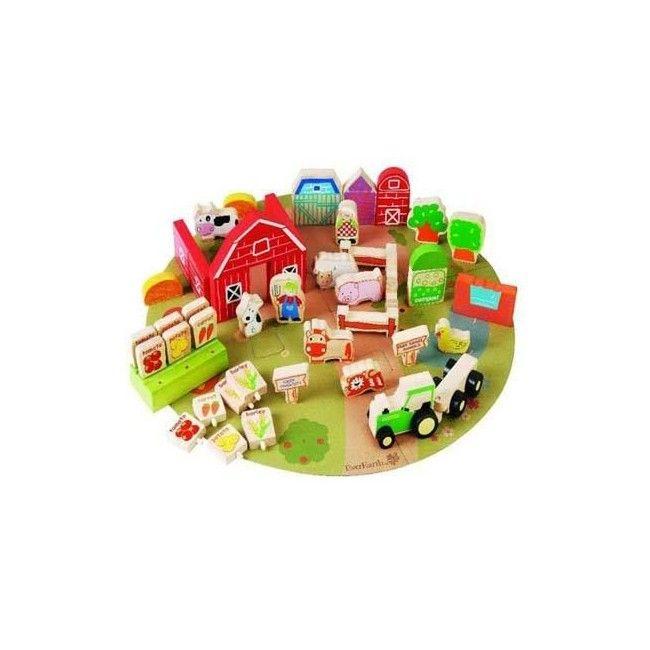 Ever Earth Organic Farm Play Set 53 Pieces