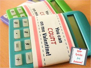Calculator Valentine's for students. WHY AM I JUST SEEING THIS NOW?!