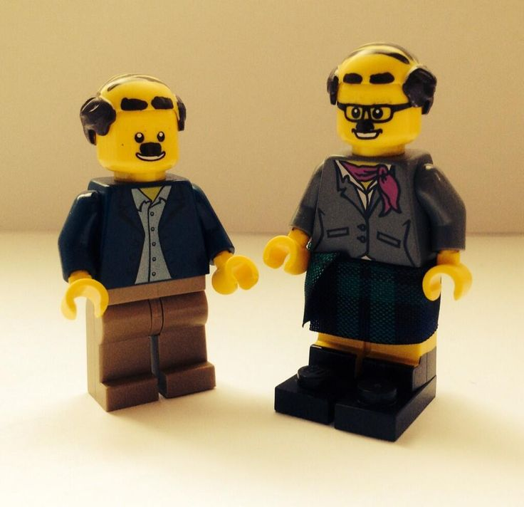 Twitter / scottywrotem: I've made some Donald and Davey ...Bob Mortimer retweeted !