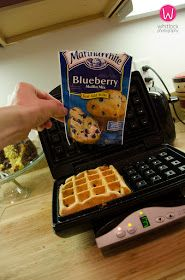 The Whitlock Family Blog: Twist on Waffles!