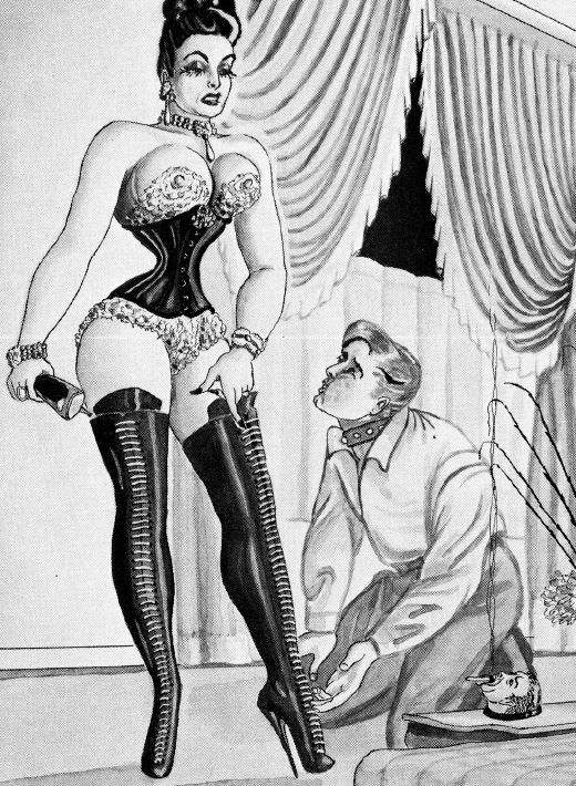 Bernarde montrieal erotic femdom drawings