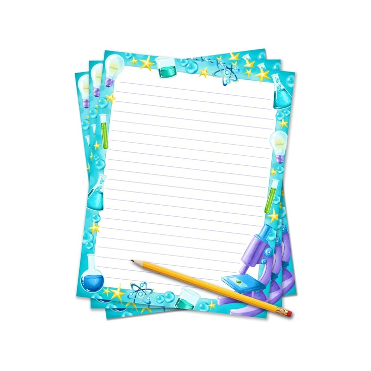 writing science reports. $0.40Easy Writing, Fair Border, Border Paper ...