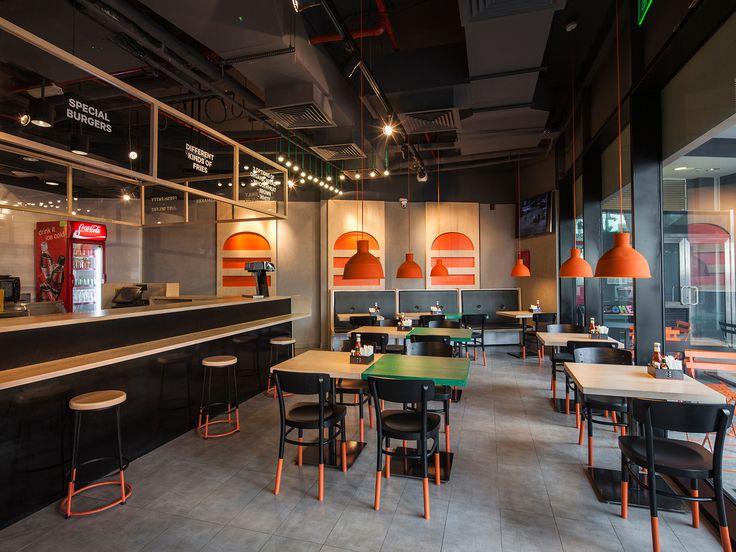 burger house bonos restaurants pinterest restaurants burgers and restaurant design. Black Bedroom Furniture Sets. Home Design Ideas