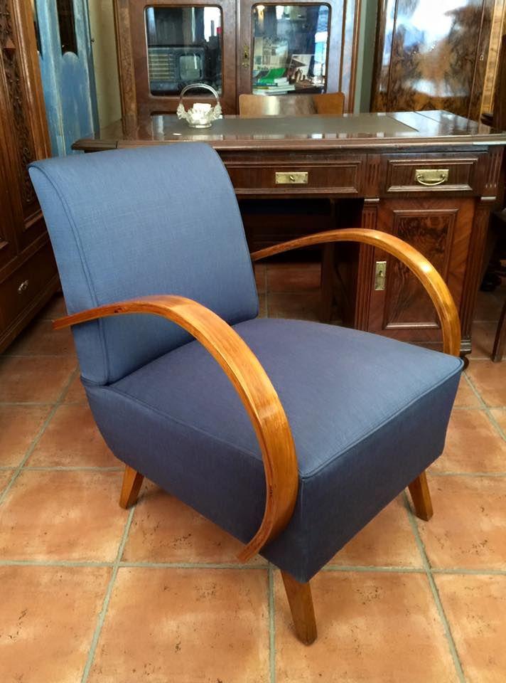 Fotel W Stylu Art Deco Projjhalabala Lata 40 Te Meble