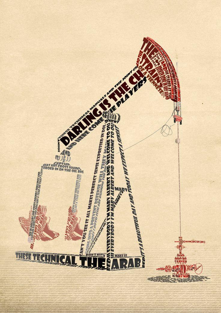 Illustration using typography
