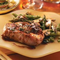 Maple Pork Chops Recipe 4 Boneless Pork Loin Chops 1 Inch Thick And 6 Ounces