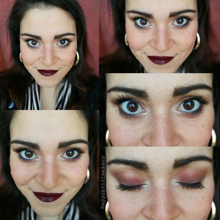 Stamattina andavo un po' di fretta e sono voluta andare sul sicuro con il trucco.  Base Supreme di NABLA Cosmetics riga infracigliare con kajal nero di Physicians Formula  e un po' di sfumatura scura con Tribeca di NABLA tanto mascara (Diorshow di Dior) e stop!  Sulle labbra il bellissimo Prim di ColourPop  #FOTD #faceoftheday #makeup