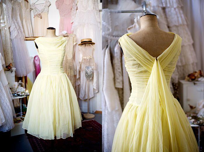 Vintage dress from elsa.elle.se