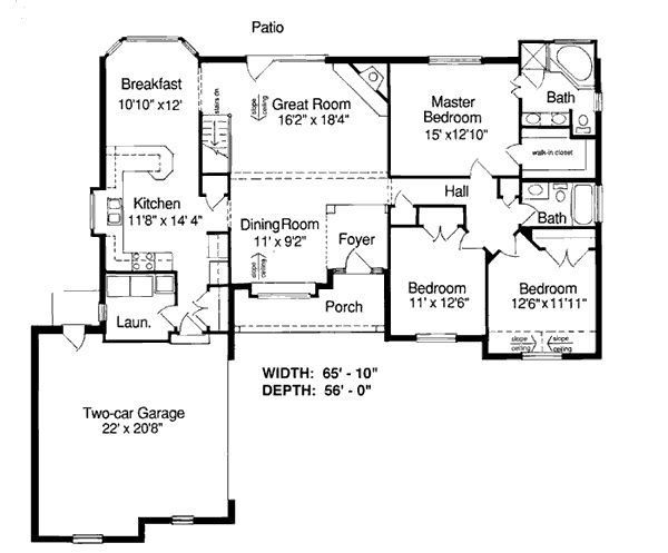 17 best images about small home plans on pinterest for Small european house plans