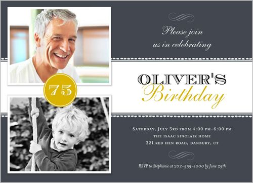 47 best 80th Birthday Party images – Shutterfly Birthday Invites