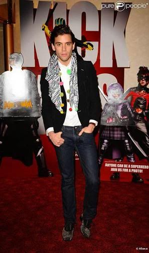 Mika at the London premiere