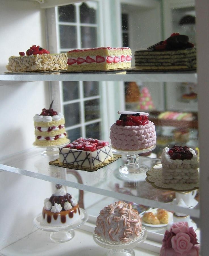 Patisserie cakes