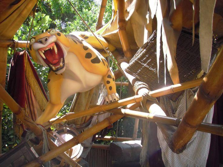Themepark attractie: Tarzan's Treehouse, Disneyland – Anaheim, Californië