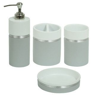 Shop for Jessica Simpson Naomi Bathroom Accessory Collection - Multiple Options Available. Free Shipping on orders over $45 at Overstock.com - Your Online Bath