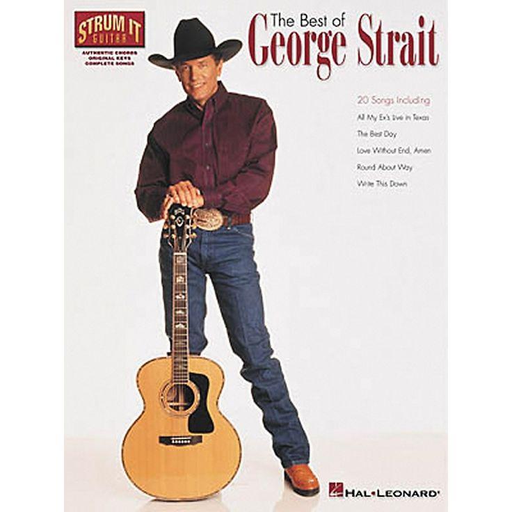 George strait guitar chords and lyrics