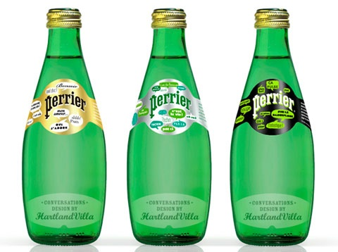 Perrier is a brand of bottled mineral water made from a spring in Vergèze in the Gard département of France. The spring is naturally carbonated. Both the water and natural carbon dioxide gas are captured independently.Perrier comes in five flavors. Unflavored, lemon, and lime are the oldest flavors. In 2007,Citron Lemon-Lime and Pamplemousse Rose (Pink Grapefruit) flavors debuted