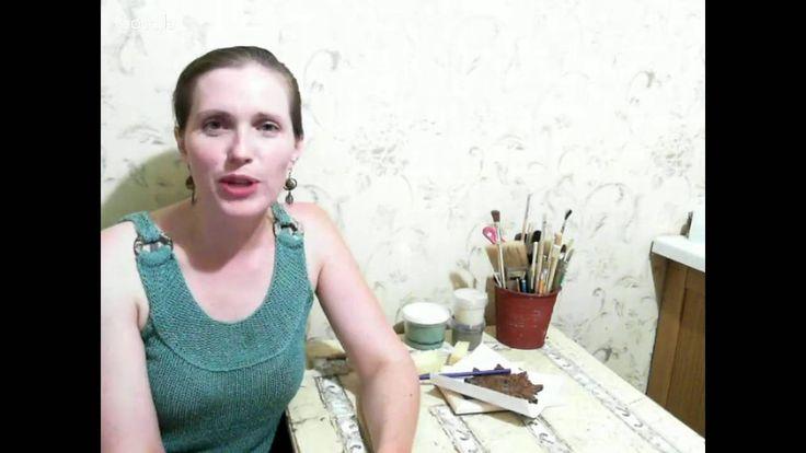 """Елена Журавлёва. """"Декор и реставрация мебели, трафаретная роспись на мебели"""""""