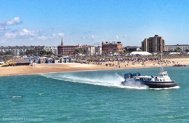 Hovercraft to and from the Isle of Wight