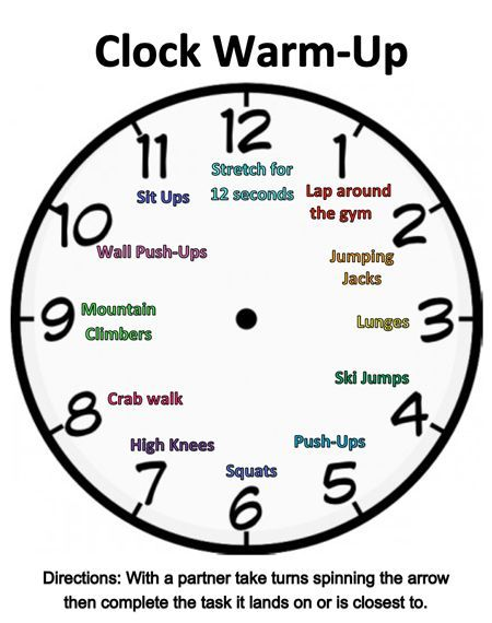 Thought this could be a fun way to implement a physical activity lesson that gets students moving and interacting with others. This activity relates to the health and physical education planned curriculum, focusing on the strand of movement competence: skills, concepts and strategies. Students get to spin the board and whatever it falls on he or she must complete the physical movement for a certain amount of time.
