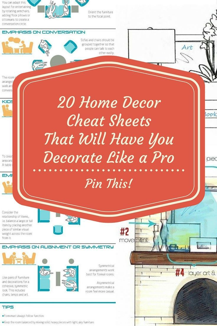 Cheat sheets to always have handy!