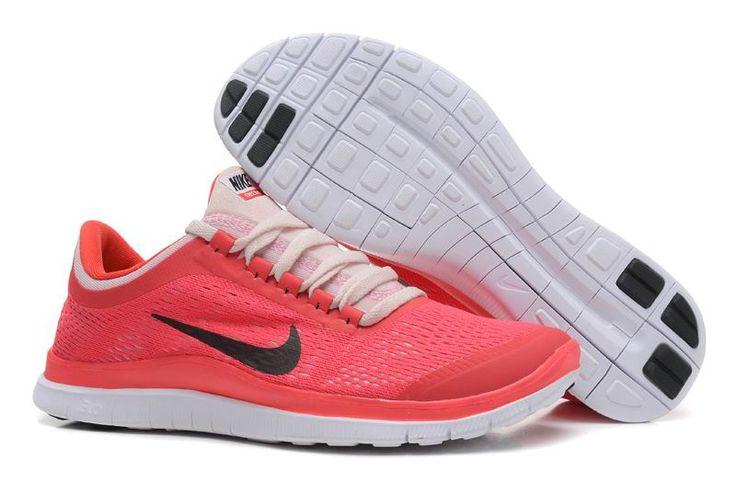 Nike Free 3.0 V5 Damen Gr 36-39 Rot Schwarz Deutschland Pink Rosa