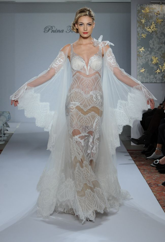 17 best Wedding Dresses with Sleeves images on Pinterest | Wedding ...