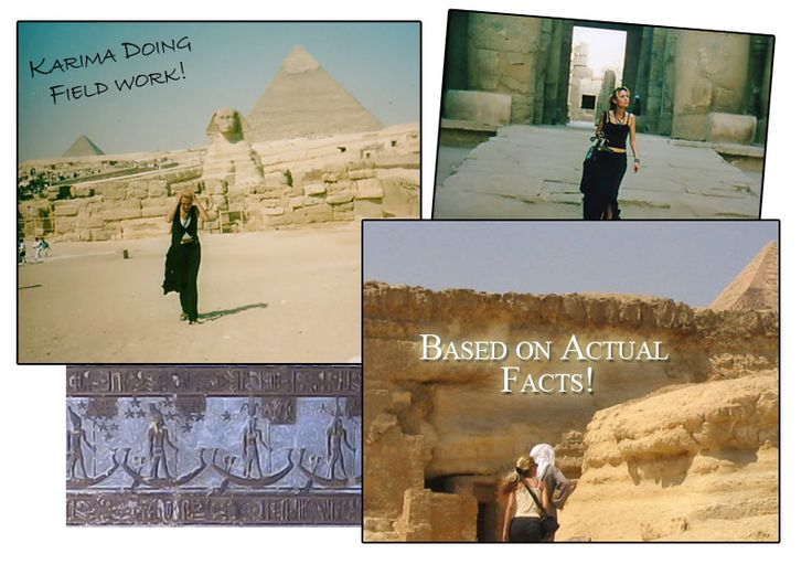 More Pictures from Egypt, with me in them ;0) The Secret of Anubis, The Winter Triangle