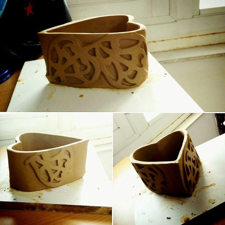 #pottery #my_handmade #slab
