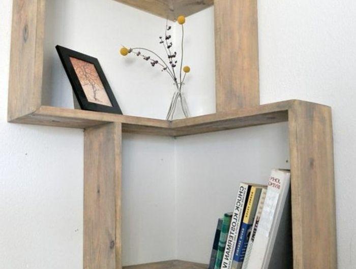 les tag res d angle en 41 photos pleines des id es salon pinterest salons shop ideas. Black Bedroom Furniture Sets. Home Design Ideas