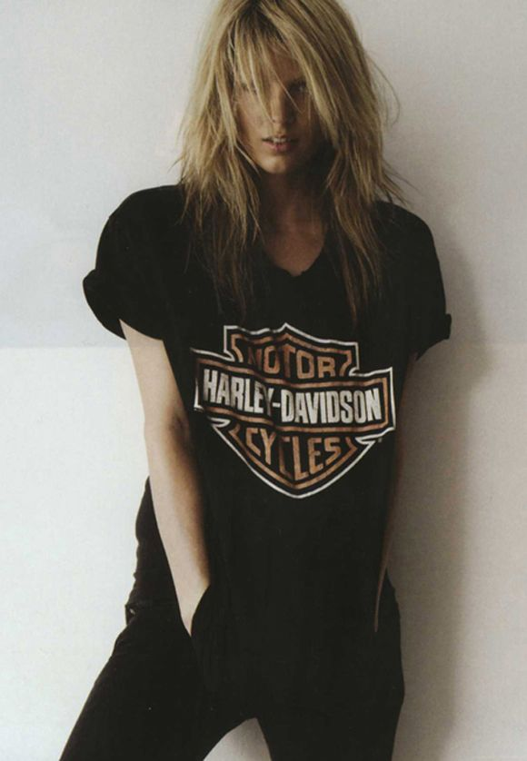 Love this harley tee. Mine is chopped up and full of holes.