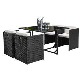 Kennebunk 5 Piece Dining Set with Cushions