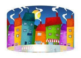 """Lampa dla Twojego dziecka  """"Dziecięca Fantazja"""" z kolekcji MacoDesign"""