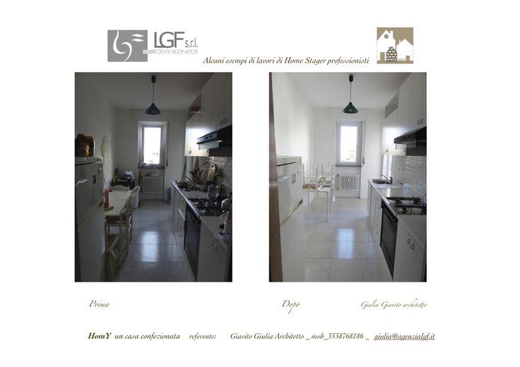 Appartamento in affitto DISORDINATO? ...Non viene PAGATO!!!  BISOGNA chiamare Giulia Giavito Architetto Home Stager!