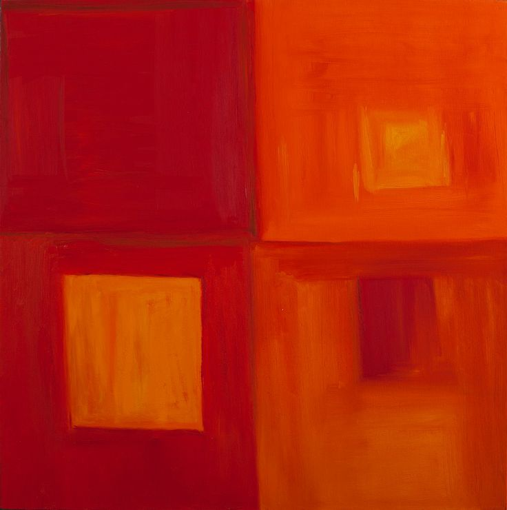 """Positive Abstract Fine Art """"AT LEAST FOUR"""""""