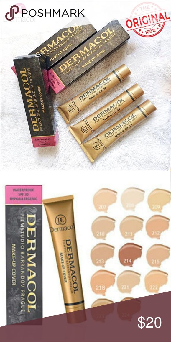 Dermacol shade 218 It's been opened and swatched but it comes with box and instructions Makeup Concealer
